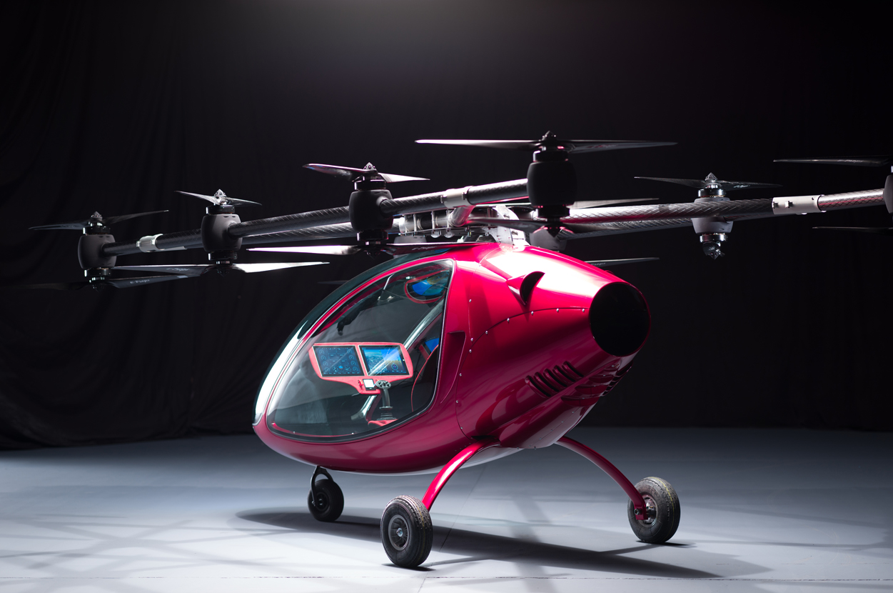 Drone taxi - Passenger drone