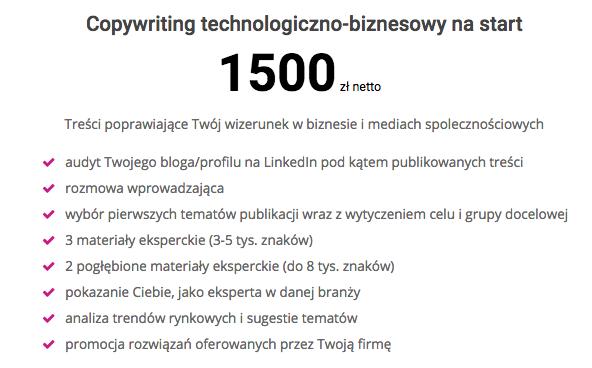 Copywriting Paweł Kacperek