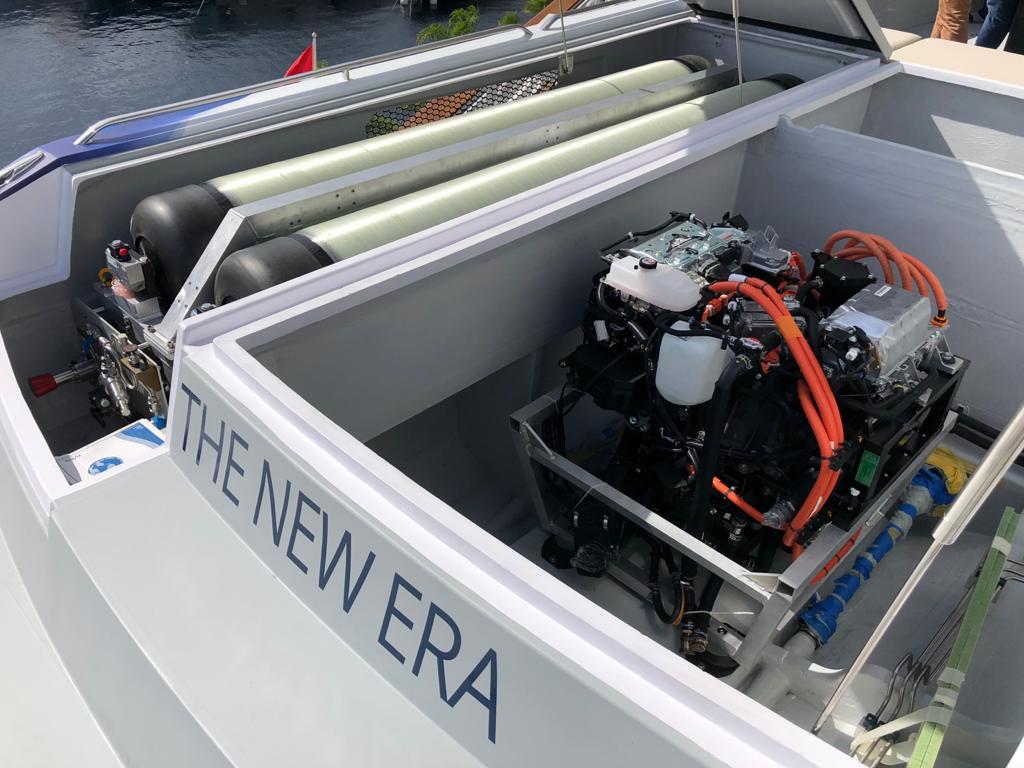 Wodorowy generator dla jachtów